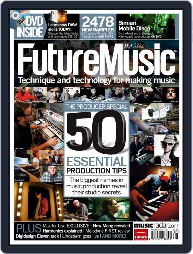 Future Music December 28th, 2009 Digital Back Issue Cover