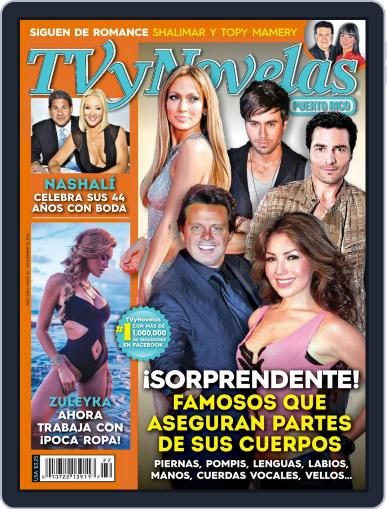 Tvynovelas Puerto Rico November 5th, 2014 Digital Back Issue Cover