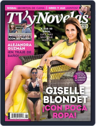 Tvynovelas Puerto Rico October 24th, 2014 Digital Back Issue Cover