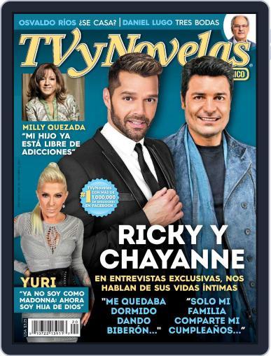 Tvynovelas Puerto Rico October 9th, 2014 Digital Back Issue Cover