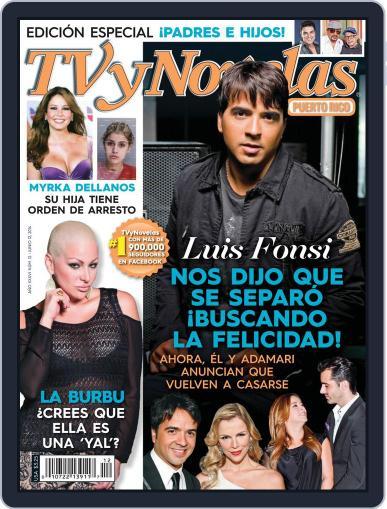 Tvynovelas Puerto Rico June 4th, 2014 Digital Back Issue Cover