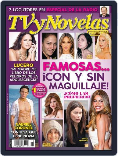 Tvynovelas Puerto Rico May 8th, 2014 Digital Back Issue Cover