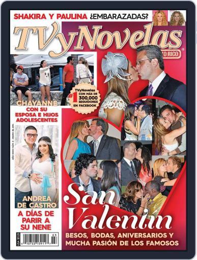Tvynovelas Puerto Rico January 24th, 2014 Digital Back Issue Cover