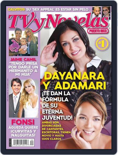Tvynovelas Puerto Rico October 9th, 2013 Digital Back Issue Cover