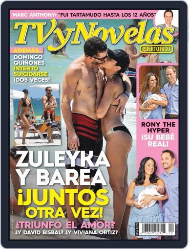 Tvynovelas Puerto Rico August 21st, 2013 Digital Back Issue Cover