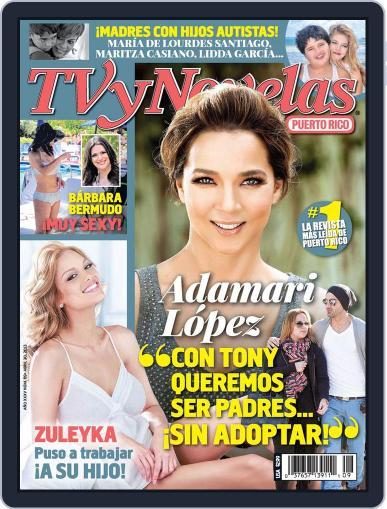 Tvynovelas Puerto Rico April 24th, 2013 Digital Back Issue Cover