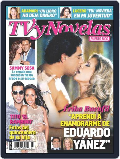 Tvynovelas Puerto Rico March 20th, 2013 Digital Back Issue Cover