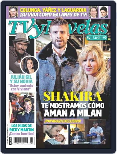 Tvynovelas Puerto Rico March 6th, 2013 Digital Back Issue Cover