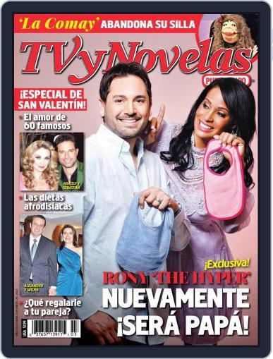Tvynovelas Puerto Rico January 23rd, 2013 Digital Back Issue Cover
