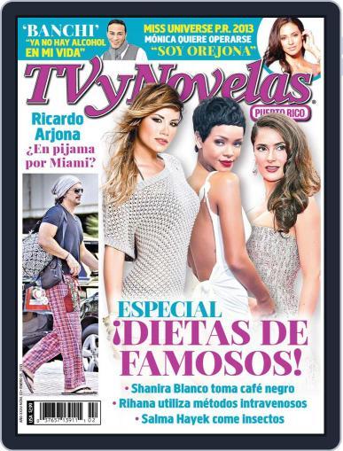 Tvynovelas Puerto Rico January 9th, 2013 Digital Back Issue Cover