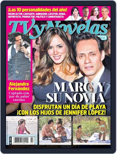 Tvynovelas Puerto Rico November 19th, 2012 Digital Back Issue Cover