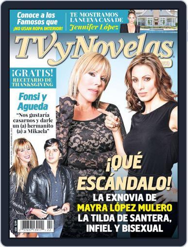 Tvynovelas Puerto Rico November 8th, 2012 Digital Back Issue Cover