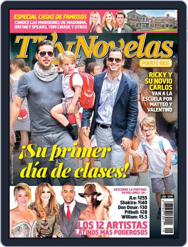 Tvynovelas Puerto Rico September 17th, 2012 Digital Back Issue Cover