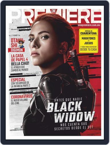 Cine Premiere April 1st, 2020 Digital Back Issue Cover