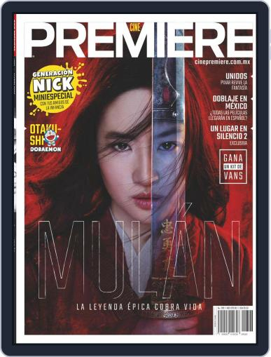 Cine Premiere March 1st, 2020 Digital Back Issue Cover