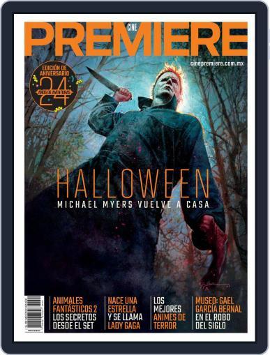 Cine Premiere October 1st, 2018 Digital Back Issue Cover