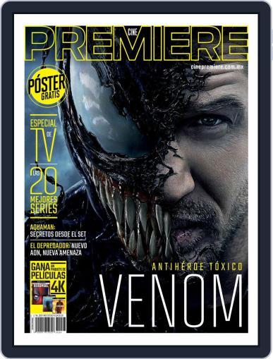Cine Premiere September 1st, 2018 Digital Back Issue Cover