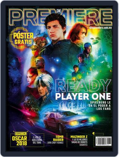 Cine Premiere March 1st, 2018 Digital Back Issue Cover