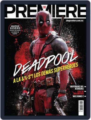 Cine Premiere September 1st, 2015 Digital Back Issue Cover