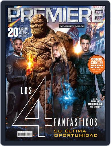 Cine Premiere August 1st, 2015 Digital Back Issue Cover