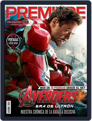 Cine Premiere April 1st, 2015 Digital Back Issue Cover