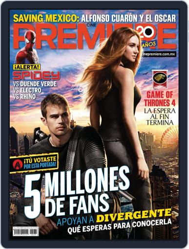 Cine Premiere March 31st, 2014 Digital Back Issue Cover