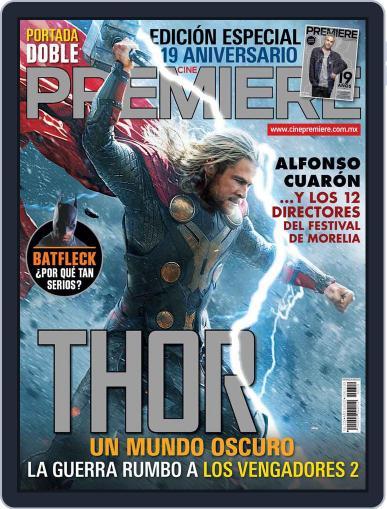 Cine Premiere October 3rd, 2013 Digital Back Issue Cover