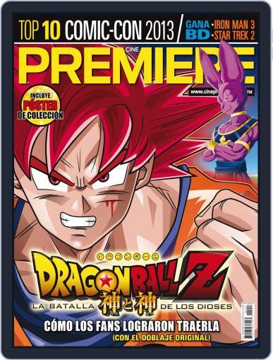 Cine Premiere September 1st, 2013 Digital Back Issue Cover