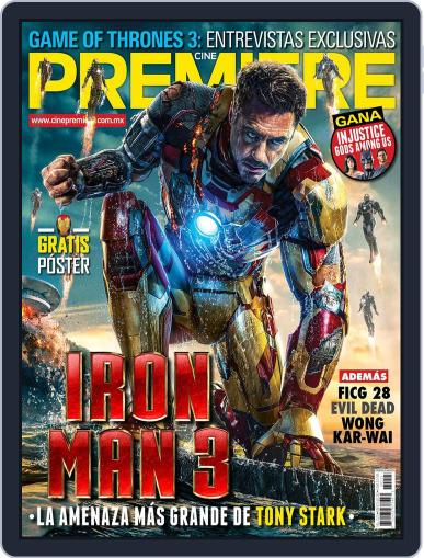 Cine Premiere March 31st, 2013 Digital Back Issue Cover