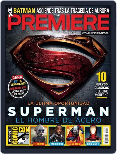 Cine Premiere September 2nd, 2012 Digital Back Issue Cover