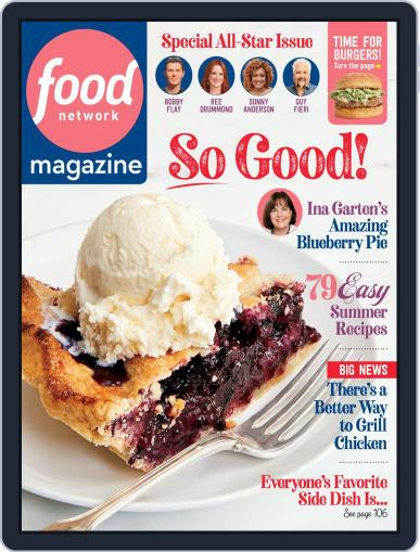 Food Network (Digital) July 1st, 2020 Issue Cover