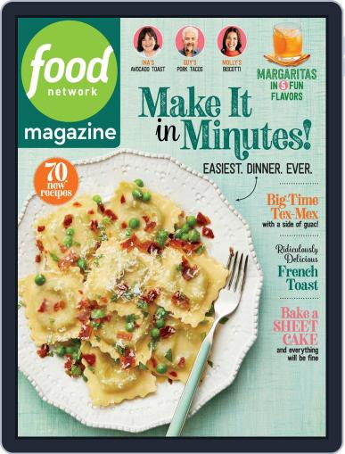 Food Network (Digital) May 1st, 2020 Issue Cover
