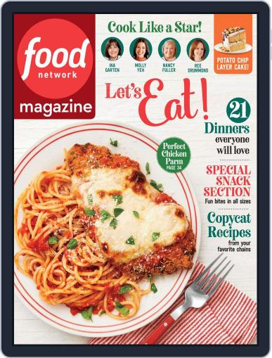 Food Network March 1st, 2020 Digital Back Issue Cover