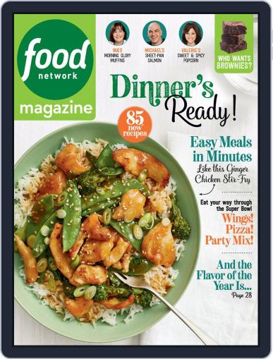 Food Network (Digital) January 1st, 2020 Issue Cover
