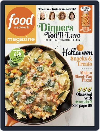Food Network (Digital) October 1st, 2019 Issue Cover