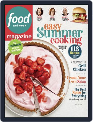 Food Network July 1st, 2019 Digital Back Issue Cover
