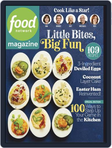 Food Network (Digital) April 1st, 2019 Issue Cover