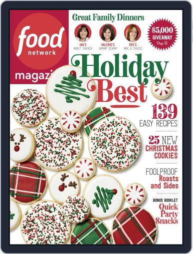 Food Network December 1st, 2018 Digital Back Issue Cover