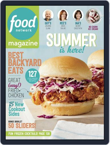 Food Network (Digital) June 1st, 2018 Issue Cover