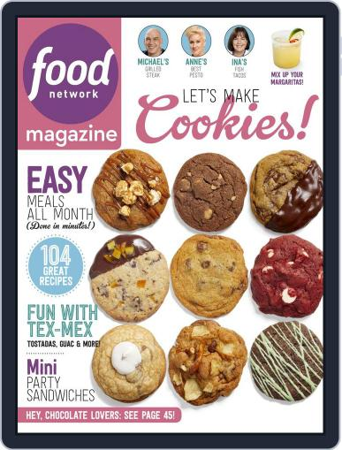 Food Network (Digital) May 1st, 2018 Issue Cover