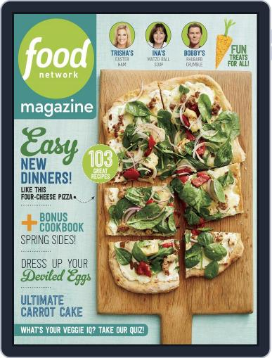 Food Network April 1st, 2018 Digital Back Issue Cover