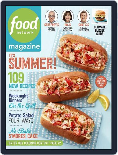 Food Network (Digital) June 1st, 2017 Issue Cover