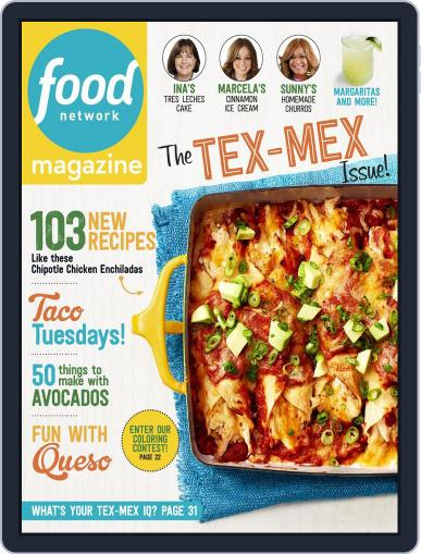 Food Network (Digital) May 1st, 2017 Issue Cover