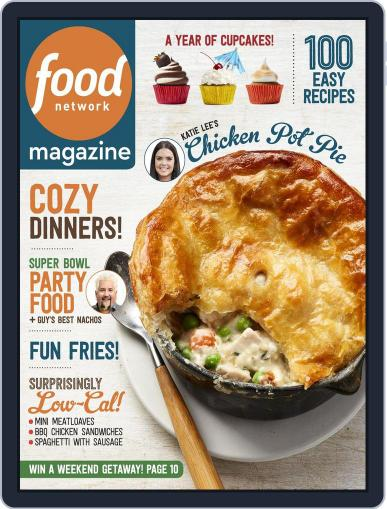 Food Network (Digital) January 1st, 2017 Issue Cover