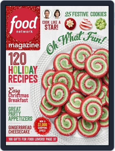 Food Network (Digital) December 1st, 2016 Issue Cover