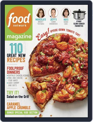 Food Network (Digital) September 1st, 2016 Issue Cover