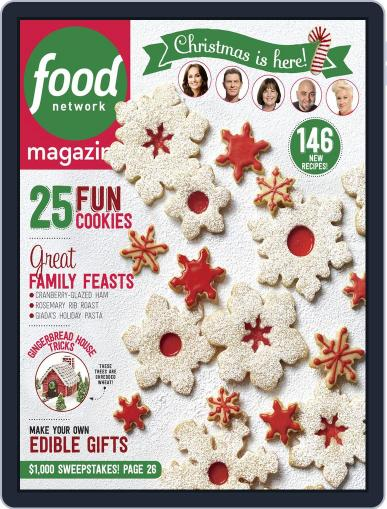 Food Network (Digital) December 1st, 2015 Issue Cover