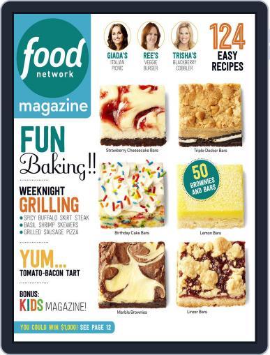 Food Network September 1st, 2015 Digital Back Issue Cover