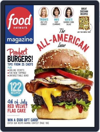 Food Network (Digital) July 1st, 2015 Issue Cover