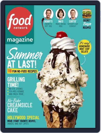 Food Network June 1st, 2015 Digital Back Issue Cover